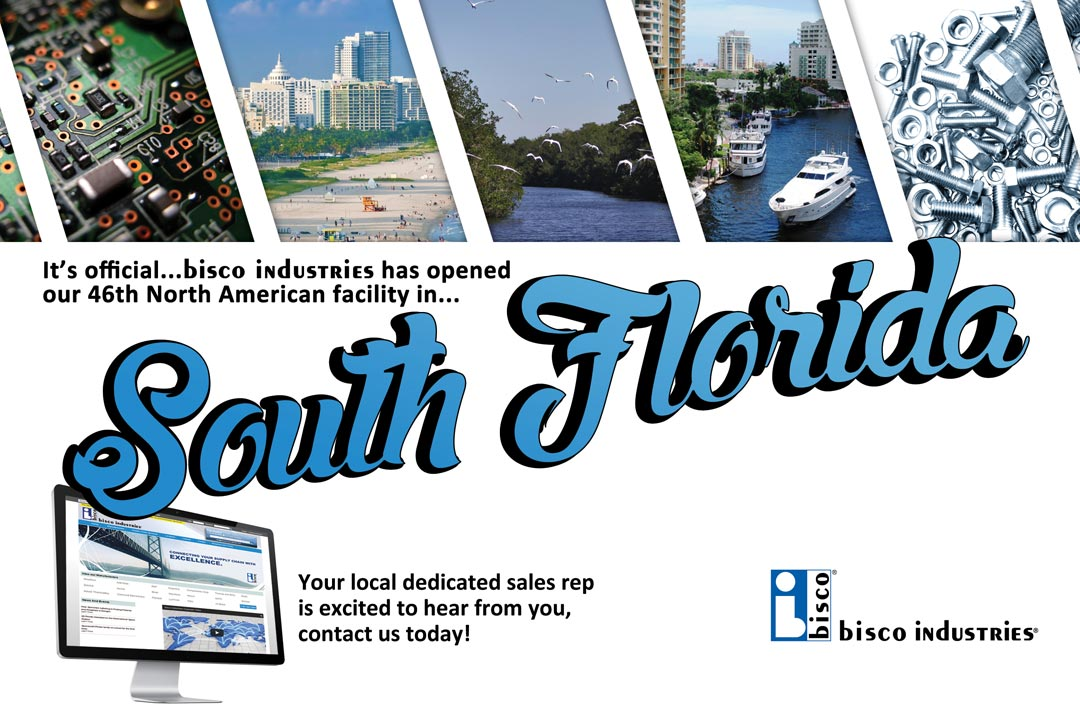 bisco industries Announces the Opening of New South FloridaFacility