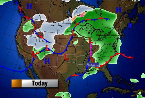 The Technology Behind Your Daily Weather Forecast