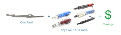 Cost Savings from KATO Pawl