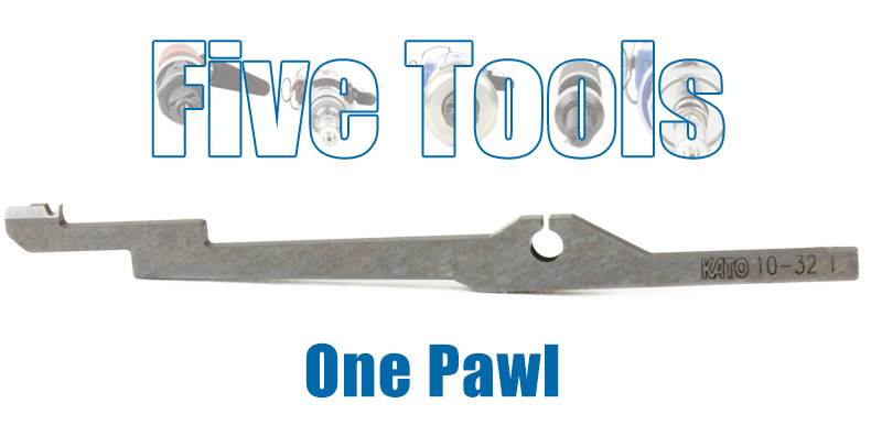 One Pawl Fits All – What's in your tool?
