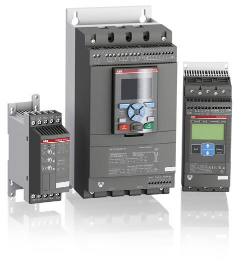 ABB's PSTX Softstarter Recognized for Innovative Design