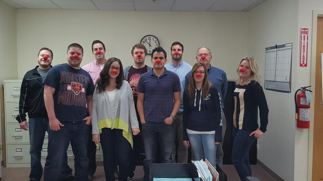 bisco Participates in Red NoseDay