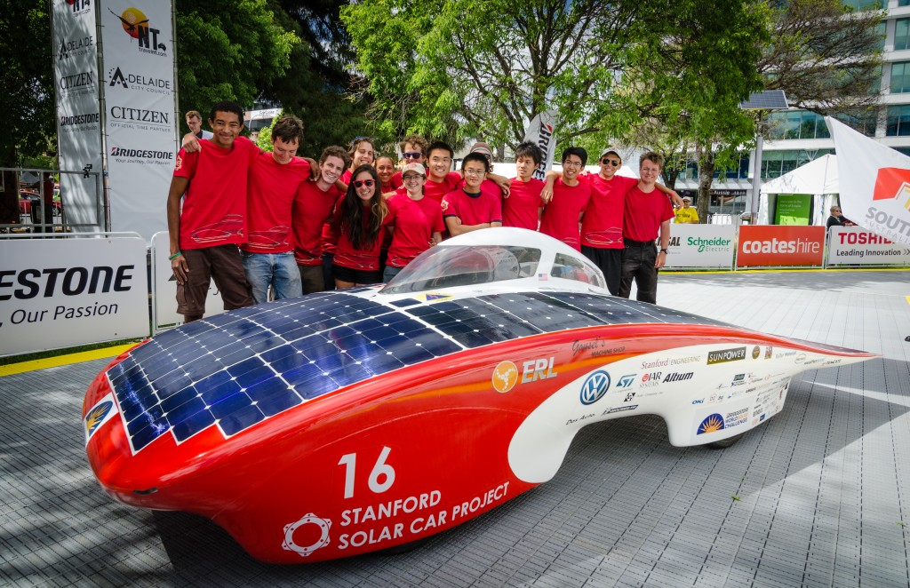 bisco Sponsors 2015 Stanford Solar Car Project
