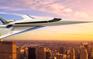 Supersonic Jet Could Fly People From NYC to London in 3 Hours