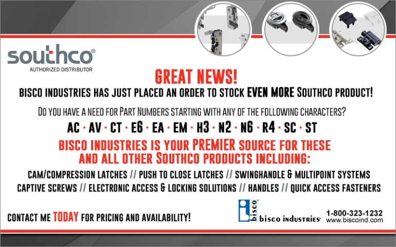 Southco Stock - bisco industries