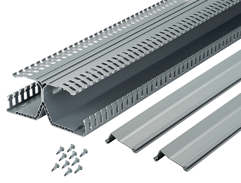 product spotlight panduit panelmax din rail wiring duct. Black Bedroom Furniture Sets. Home Design Ideas