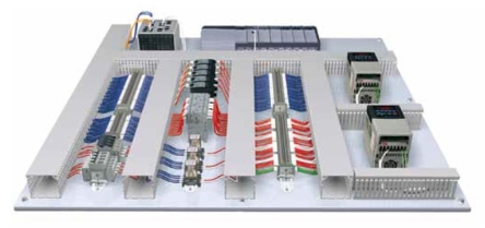 panel-layout-with-standard-wiring-duct Panduit Wiring Duct on