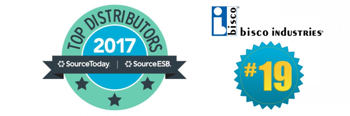 bisco Ranks #19 on 2017 Top 50 Electronics Distributors List